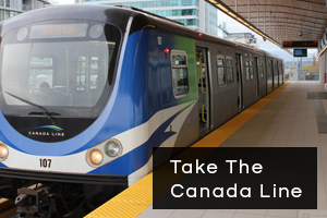 Canada Line to Wise Dental Vancouver